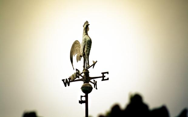 Rooster Wind Compass. Photo Drew Barrett