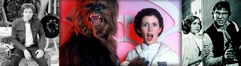 Star Wars Behind the Scenes[Photos]