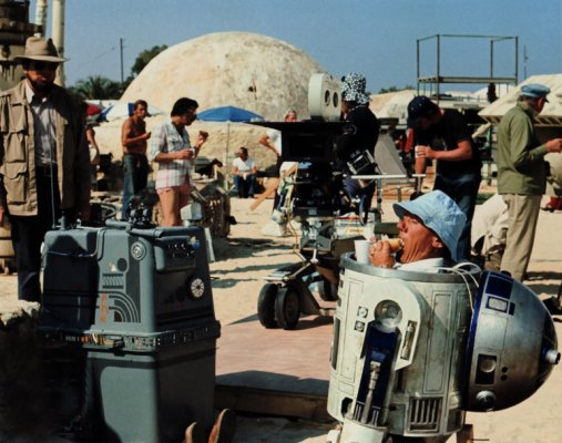 Star Wars Rare Behind the Scenes 16