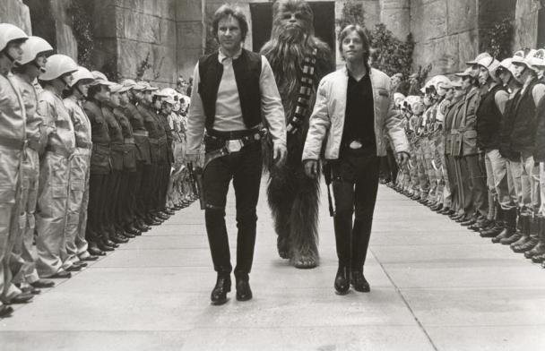 Star Wars Rare Behind the Scenes 31
