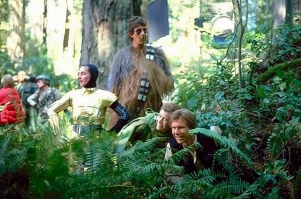 Star Wars Rare Behind the Scenes 35