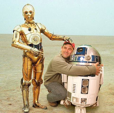 Star Wars Rare Behind the Scenes 36