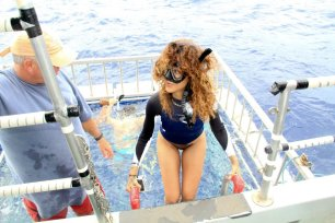 Rihanna Posts Sexy Photos of Herself Topless in Hawaii 22