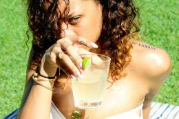 Rihanna Posts Sexy Photos of Herself Topless in Hawaii 28
