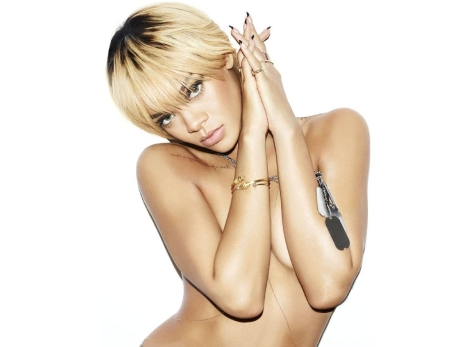 Rihanna Goes Topless in Sexy Esquire July 2012 Photoshoot Photos Large Hi Res - 001