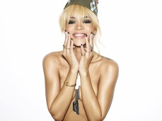 Rihanna Goes Topless in Sexy Esquire July 2012 Photoshoot Photos Large Hi Res - 005