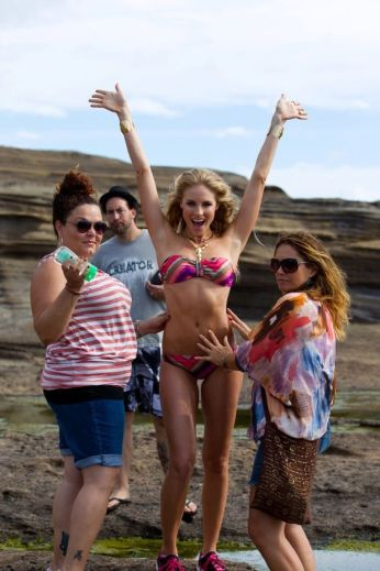 Behind The Scenes of Surfing Magazine's Swimsuit Calendar Shoot 012