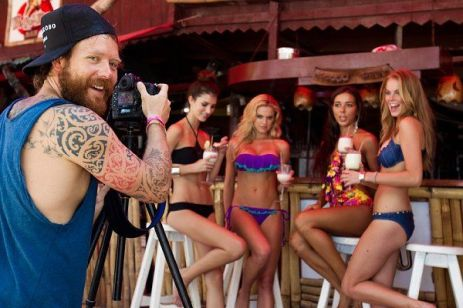 Behind The Scenes of Surfing Magazine's Swimsuit Calendar Shoot 047
