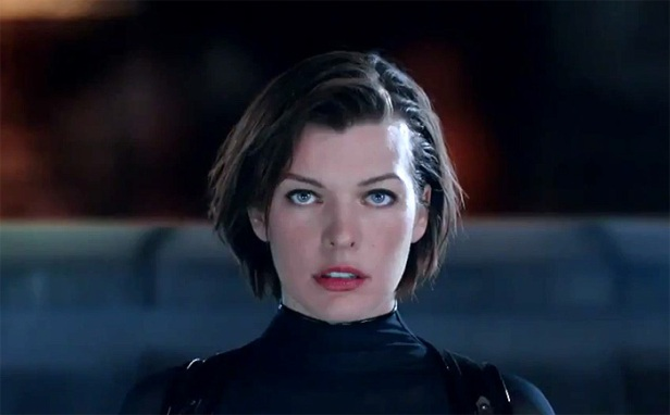 Chat Live with Milla Jovoich as she premieres 'Resident Evil- Retribution' Trailer 001