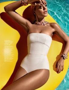 Doutzen Kroes For Vogue Magazine June 2012 003