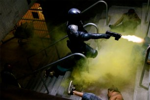 Judge Dredd Movie Photos 14