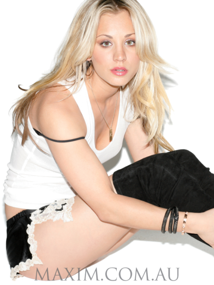 Kaley Cuoco Maxim Australia Photoshoot July 2012 012