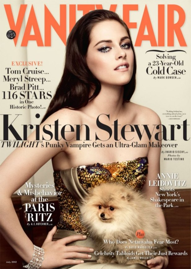 Kristen Stewart in Paris Couture Vanity Fair Photoshoot 000