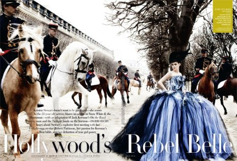 Kristen Stewart in Paris Couture Vanity Fair Photoshoot 002