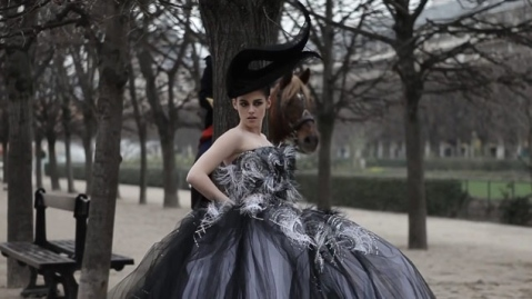 Kristen Stewart in Paris Couture Vanity Fair Photoshoot 003