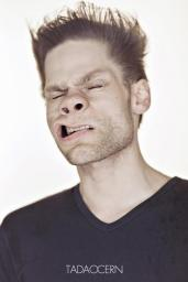 A Hilarious Disturbing Video of People Being Blasted in the Face with Wind by Tadao Cern - 001