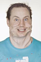 A Hilarious Disturbing Video of People Being Blasted in the Face with Wind by Tadao Cern - 003