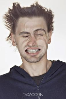 A Hilarious Disturbing Video of People Being Blasted in the Face with Wind by Tadao Cern - 006