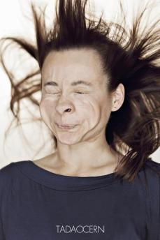 A Hilarious Disturbing Video of People Being Blasted in the Face with Wind by Tadao Cern - 007