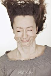 A Hilarious Disturbing Video of People Being Blasted in the Face with Wind by Tadao Cern - 008