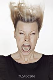 A Hilarious Disturbing Video of People Being Blasted in the Face with Wind by Tadao Cern - 009