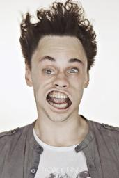 A Hilarious Disturbing Video of People Being Blasted in the Face with Wind by Tadao Cern - 010