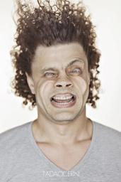 A Hilarious Disturbing Video of People Being Blasted in the Face with Wind by Tadao Cern - 011