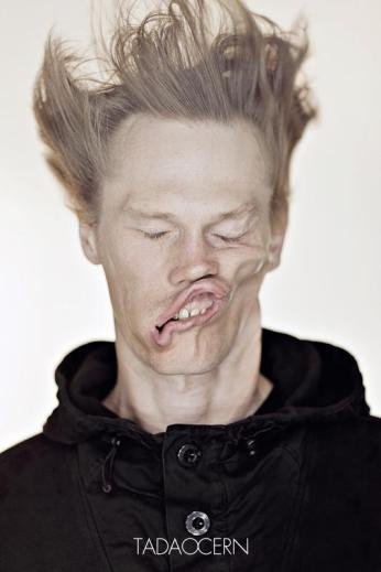A Hilarious Disturbing Video of People Being Blasted in the Face with Wind by Tadao Cern - 012