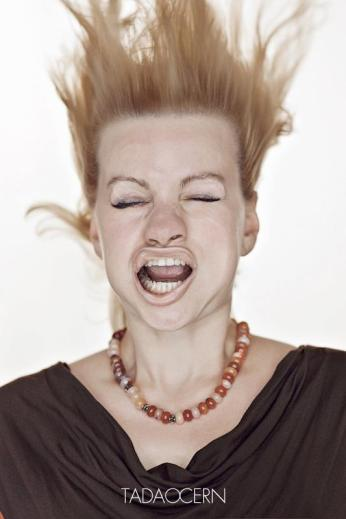 A Hilarious Disturbing Video of People Being Blasted in the Face with Wind by Tadao Cern - 013