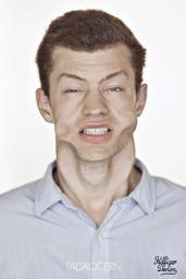 A Hilarious Disturbing Video of People Being Blasted in the Face with Wind by Tadao Cern - 016