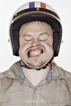 A Hilarious Disturbing Video of People Being Blasted in the Face with Wind by Tadao Cern - 020