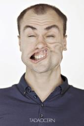 A Hilarious Disturbing Video of People Being Blasted in the Face with Wind by Tadao Cern - 021