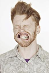 A Hilarious Disturbing Video of People Being Blasted in the Face with Wind by Tadao Cern - 024