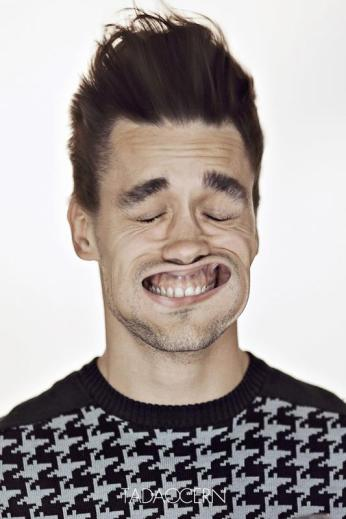 A Hilarious Disturbing Video of People Being Blasted in the Face with Wind by Tadao Cern - 025