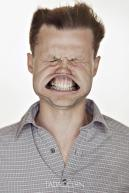 A Hilarious Disturbing Video of People Being Blasted in the Face with Wind by Tadao Cern - 029