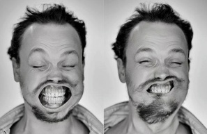 A Hilarious Disturbing Video of People Being Blasted in the Face with Wind by Tadao Cern - 030