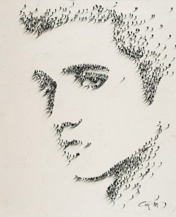 Amazing Portraits Using People by Alan Craig - 003 Elvis