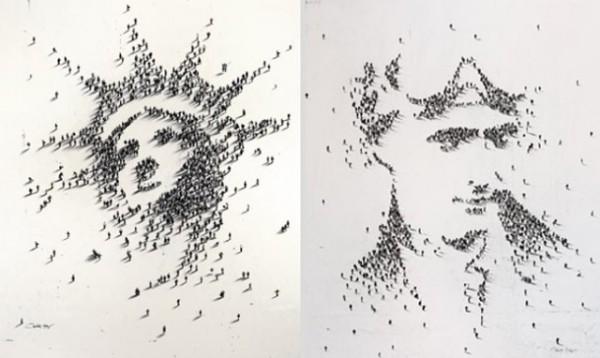 Amazing Portraits Using People by Alan Craig - 005