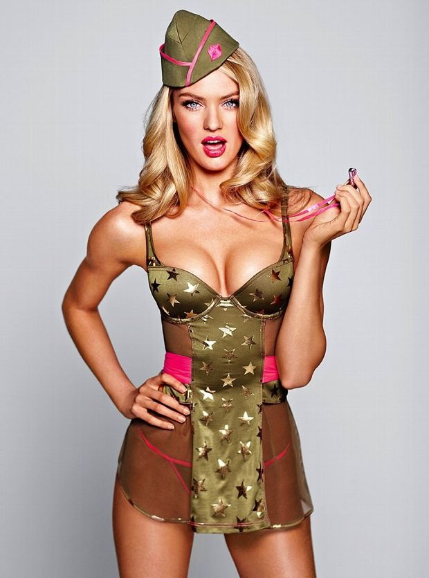 Candice Swanapoel Plays Dress Up For Victoria's Secret Photos - 003