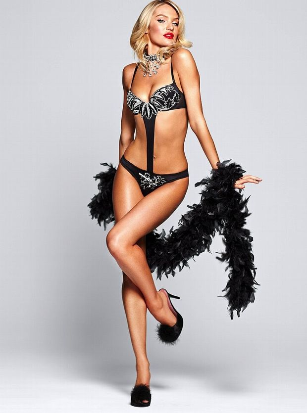 Candice Swanapoel Plays Dress Up For Victoria's Secret Photos - 009