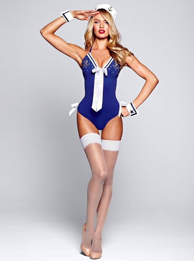 Candice Swanapoel Plays Dress Up For Victoria's Secret Photos - 010