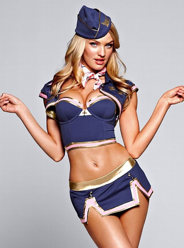 Candice Swanapoel Plays Dress Up For Victoria's Secret Photos - 011