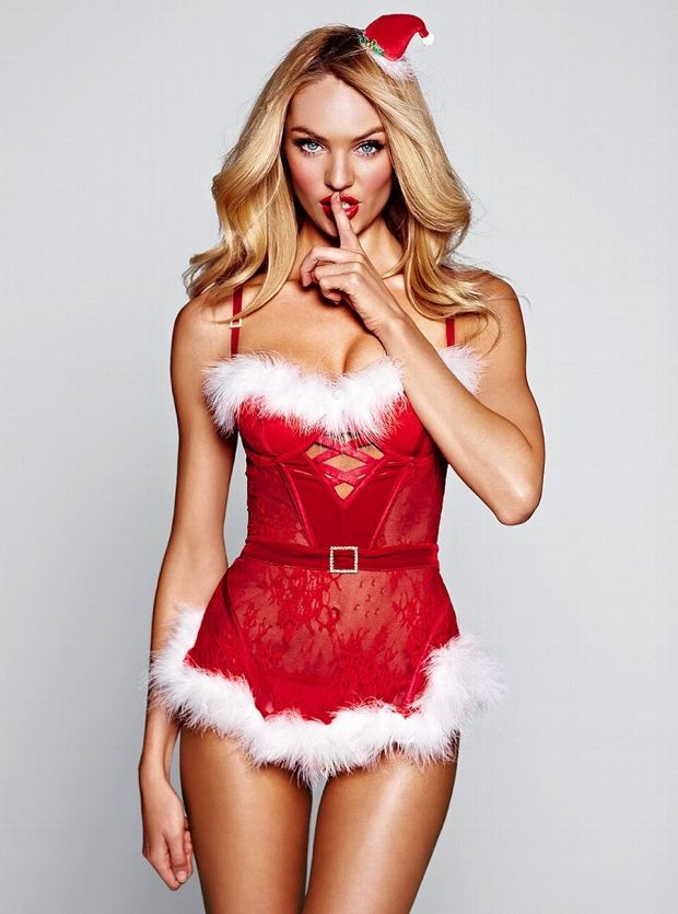 Candice Swanapoel Plays Dress Up For Victoria's Secret Photos - 012