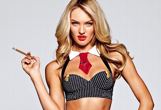 Candice Swanapoel Plays Dress Up For Victoria's Secret Photos - 013