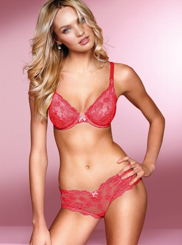 Candice Swanepoel for Victoria's Secret Lingerie July 2012 Photos 01