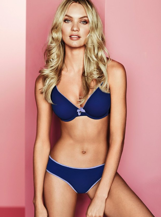 Candice Swanepoel for Victoria's Secret Lingerie July 2012 Photos 02