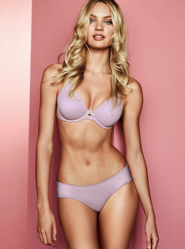 Candice Swanepoel for Victoria's Secret Lingerie July 2012 Photos 04