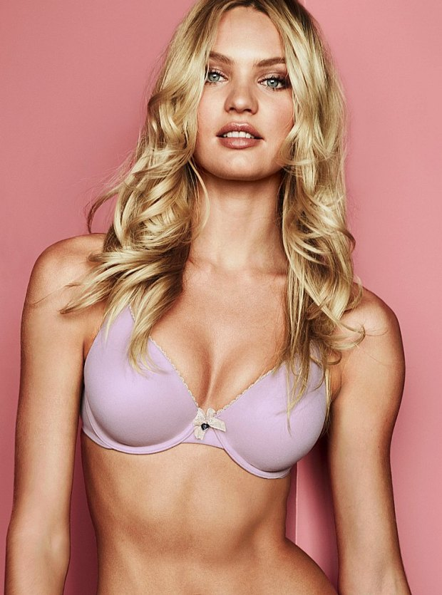 Candice Swanepoel for Victoria's Secret Lingerie July 2012 Photos 05