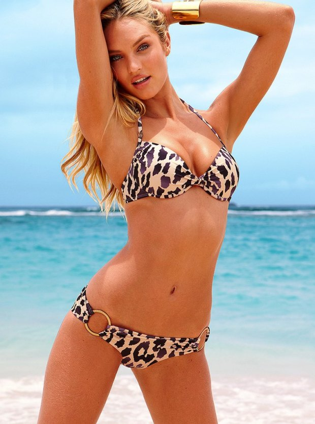 Candice Swanepoel for Victoria's Secret Swimsuit July 2012 Photos 04