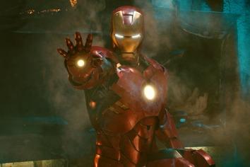 First Look at Iron Man 3 Armour Comic Con 2012 Photos 01